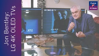 Jon Bentley reviews LG 4K OLED TVs | Currys PC World