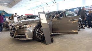 2019 Audi A8 L - Motor Show Take Review (4K)