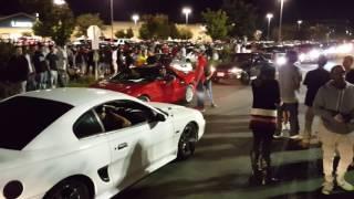 Stockton car show...fool got jumped