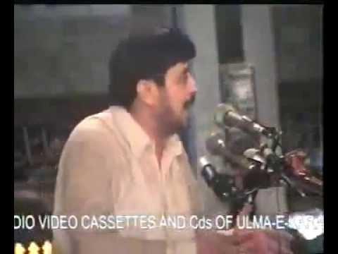 Fazal Alvi Shaheed, Haq Biyan. video