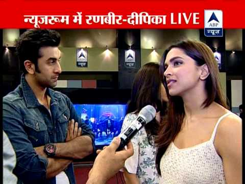 Must Watch: Yeh Jawaani Hai Deewani stars at ABP Newsroom