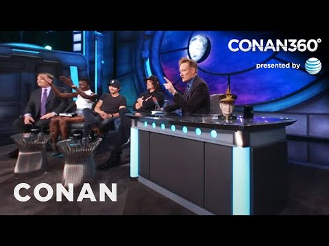 "CONAN360: Michonne Is The Biggest Badass On ""The Walking Dead"""
