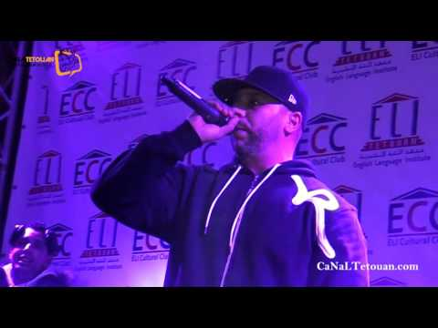 مغني الراب مسلم يلهب الجمهور التطواني بأغانيه في أمسية جميلة من تنظيم معهد ELI للغة الانجليزية