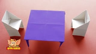 Origami - How to make a Table