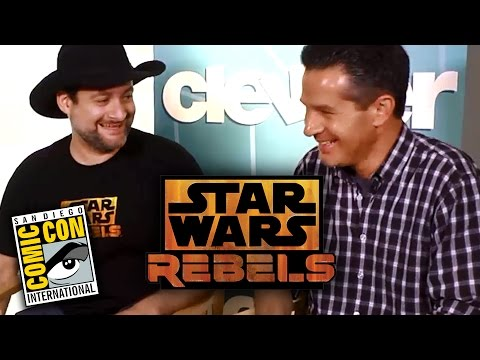 Star Wars Rebels Details From Simon Kinberg & David Filoni  - Comic Con 2014