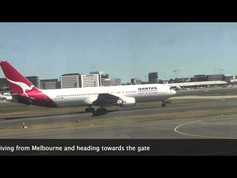 Plane spotting at Sydney Airport.Qantas Jetstar China Airbus A380 Southern Air Fiji Delta