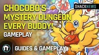 Chocobo's Mystery Dungeon EVERY BUDDY! - Gameplay