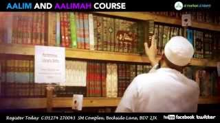 Alim & Aalimah Course Advert 2014