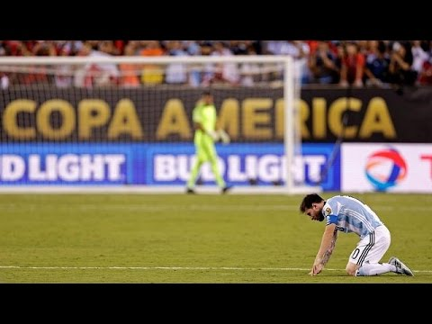 Messi Quits National Team After Heartbreaking Loss To Chile