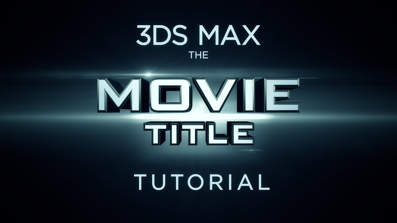 creating a 3d movie title youtube