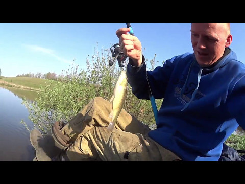 видео-зимняя ловля карася