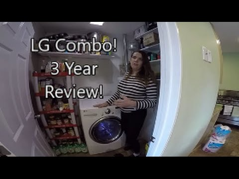 lg washer dryer combo review 1 video