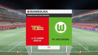 FIFA 22   1. FC Union Berlin vs VFL Wolfsburg - Stadion An Der Alten Försterei  