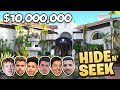 CRAZY HIDE And SEEK In $10 MILLION DOLLAR MANSION!