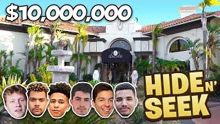 CRAZY HIDE And SEEK In $10 MILLION DOLLAR MANSION!