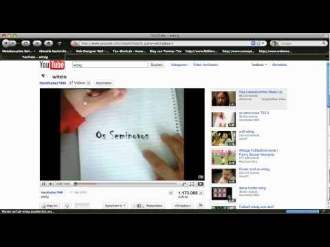 Youtube Easteregg -- Snake durch einen Trick spielbar