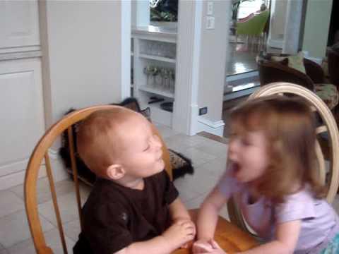 kissing cousins, babies