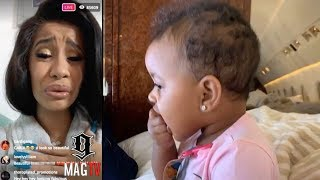 """Download Lagu Cardi B: """"I Respect Mothers More Than Ever Now"""" On IG Live! Gratis STAFABAND"""