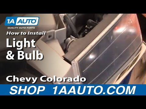 How To Install Replace Parking Light and Bulb Chevy Colorado 04-12 1AAuto.com