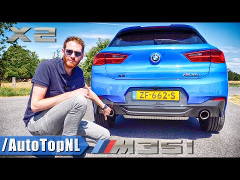 2020 BMW X2 M35i REVIEW on AUTOBAHN & ROAD by AutoTopNL