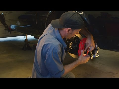 Drum to Disc Brake Conversion for Muscle Cars - How To Install Video Wilwood Super
