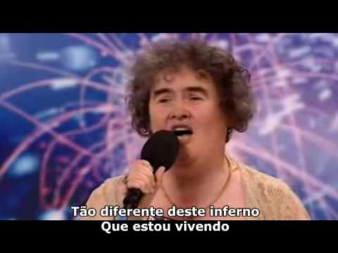Susan Boyle Verso Completa Legendado PT BR Music Videos