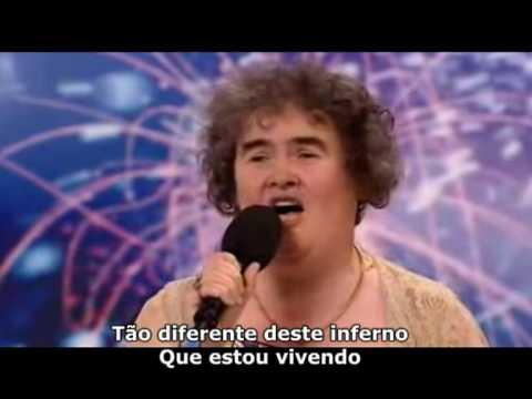Susan Boyle Versão Completa Legendado PT BR