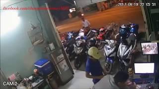 """Top những pha trộm xe máy """"thần thánh"""" 2017"""