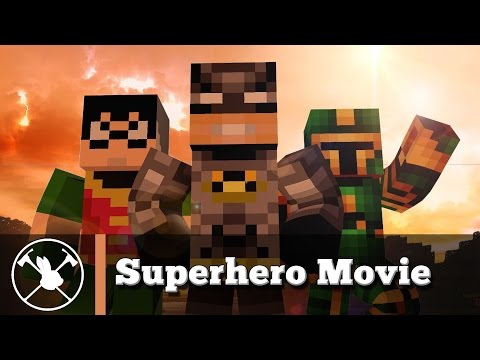 Superhero Movie (minecraft Animation) video