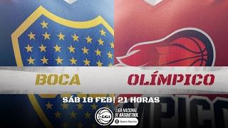 Liga Nacional: Boca vs Olmpico   LaLigaEnTyC