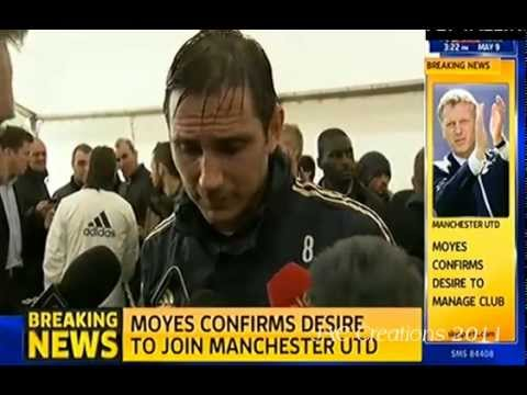 REACTION: David Moyes Confirmed As The New Manchester United Manager 9/5/13