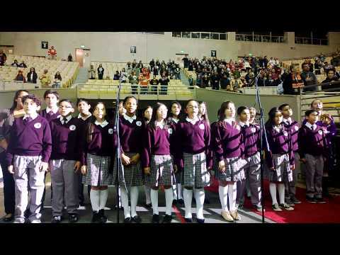 De Marillac Academy Select Choir Performs National Anthem - 11/18/2013