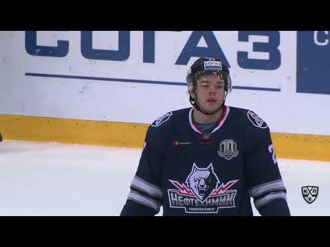 Sibir 1 - Neftekhimik 4, 13 November 2017 Highlights