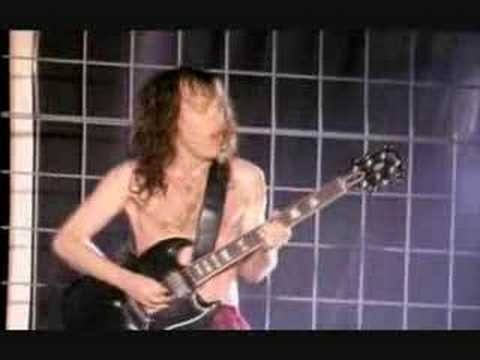 Angus Young live at Donnington