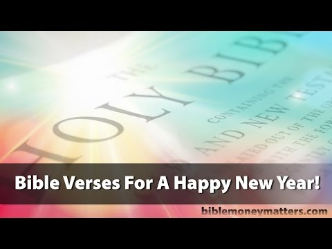 25 Bible Verses For A Happy New Year!