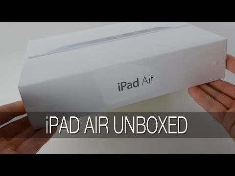 Apple iPad Air Unboxing & First Look