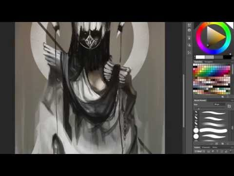 White Reaper Speed painting leomelodica