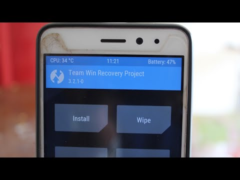 HOW TO INSTALL/UPGRADE  TWRP 3.2.1-0 ON LENOVO K6 POWER Latest TWRP Recovery mode