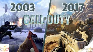 History And Évolution Of Call Of Duty (2003-2018)
