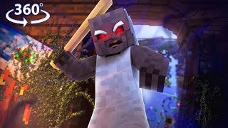 GRANNY'S going to CATCH US! in 360° VR!! - 360° Minecraft Horror Map