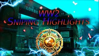 Call of Duty WW2 Sniping Highlights #2