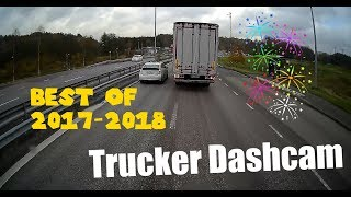 Trucker Dashcam BEST OF 2017-2018
