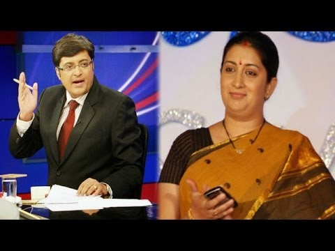 The Newshour Direct: Smriti Irani (1st April 2014)