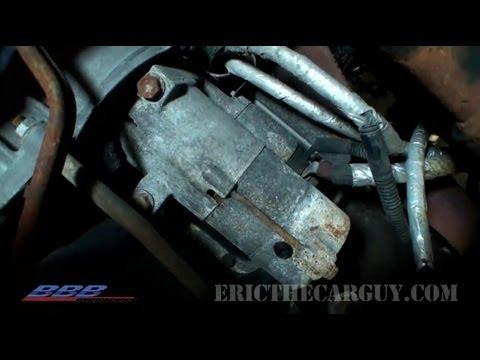 Starter R&R 101 - EricTheCarGuy