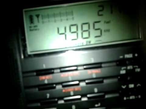 4985kHz - Radio Brasil Central