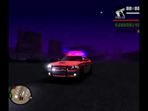 New GTA SA Police lights!