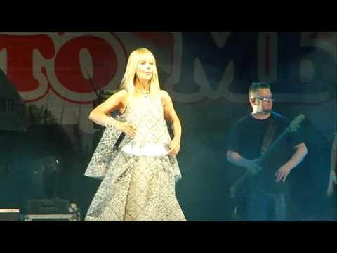 Концерт Валерии.  День города Волжского 24.07.2016