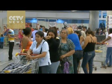 Venezuela leader looks to combat economic depression