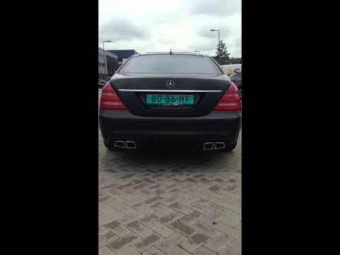 Mercedes Benz S500/S63 Amg Uitgevoerd By KCE Sport Uitlaten!