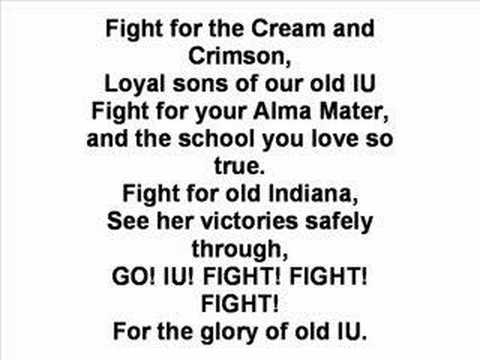 Indiana University - Fight Song Video